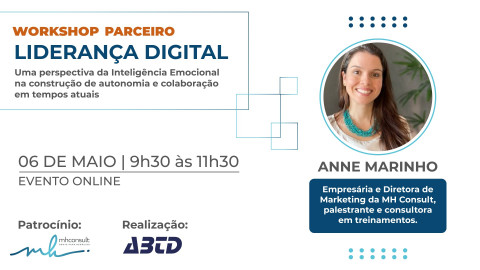 WORKSHOP ONLINE - LIDERANÇA DIGITAL