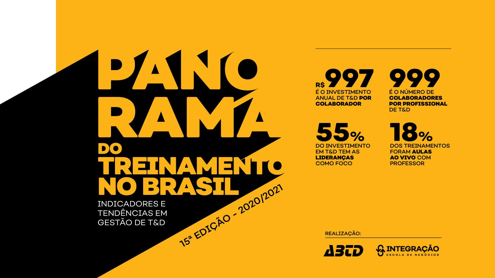 Pesquisa Panorama do Treinamento no Brasil 2020/2021
