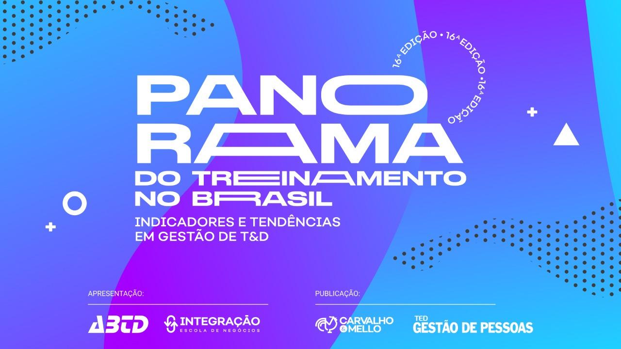 """Participe da Pesquisa """"O Retrato do Treinamento no Brasil"""", 16ª ed.!"""