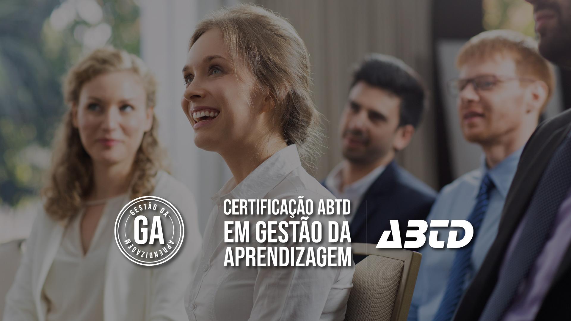 Certificação ABTD em gestão da aprendizagem