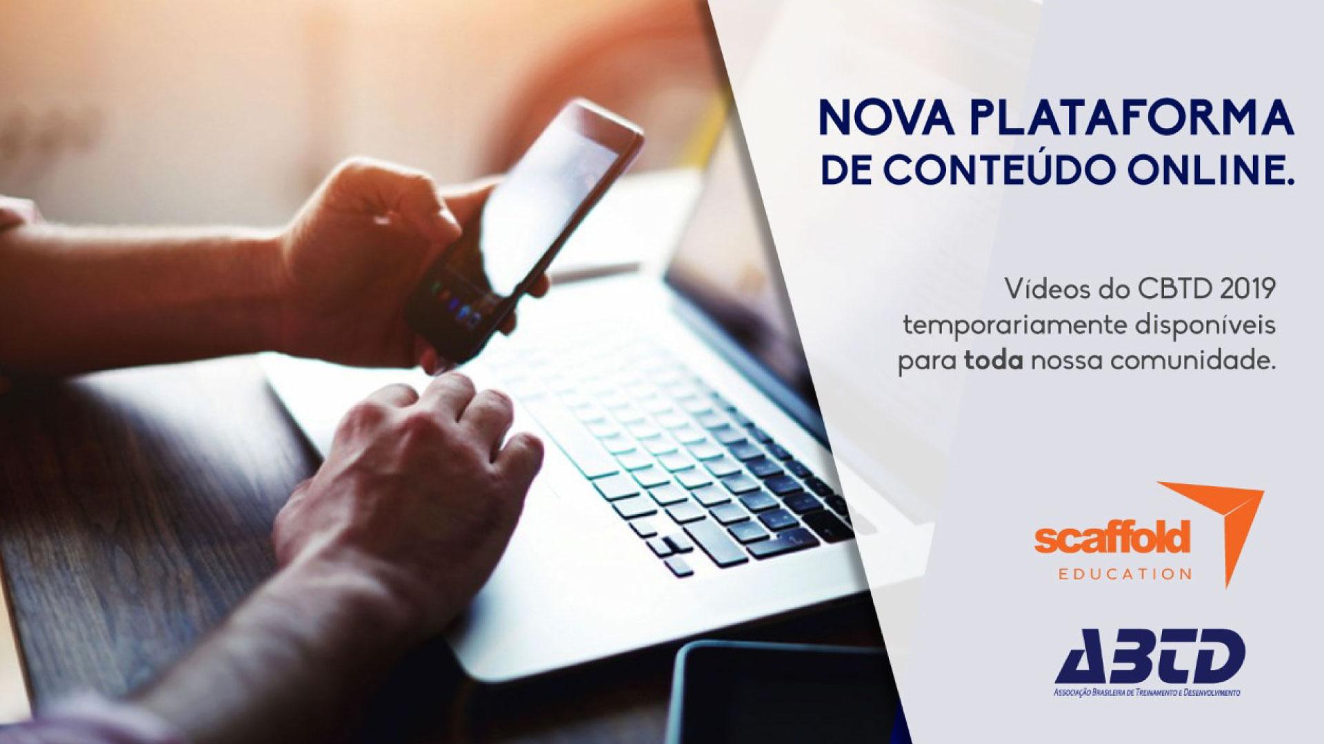 Nova plataforma de conteúdo online!