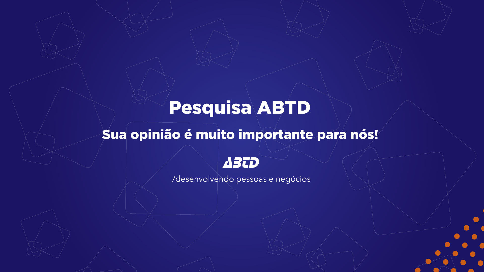 Pesquisa ABTD